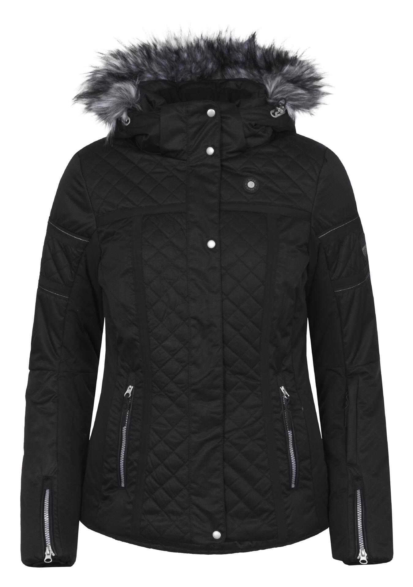 mode sport trends damen skijacke icepeak carol black. Black Bedroom Furniture Sets. Home Design Ideas