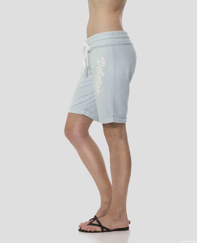 mode sport trends timeout los angeles damen shorts bermuda blau. Black Bedroom Furniture Sets. Home Design Ideas